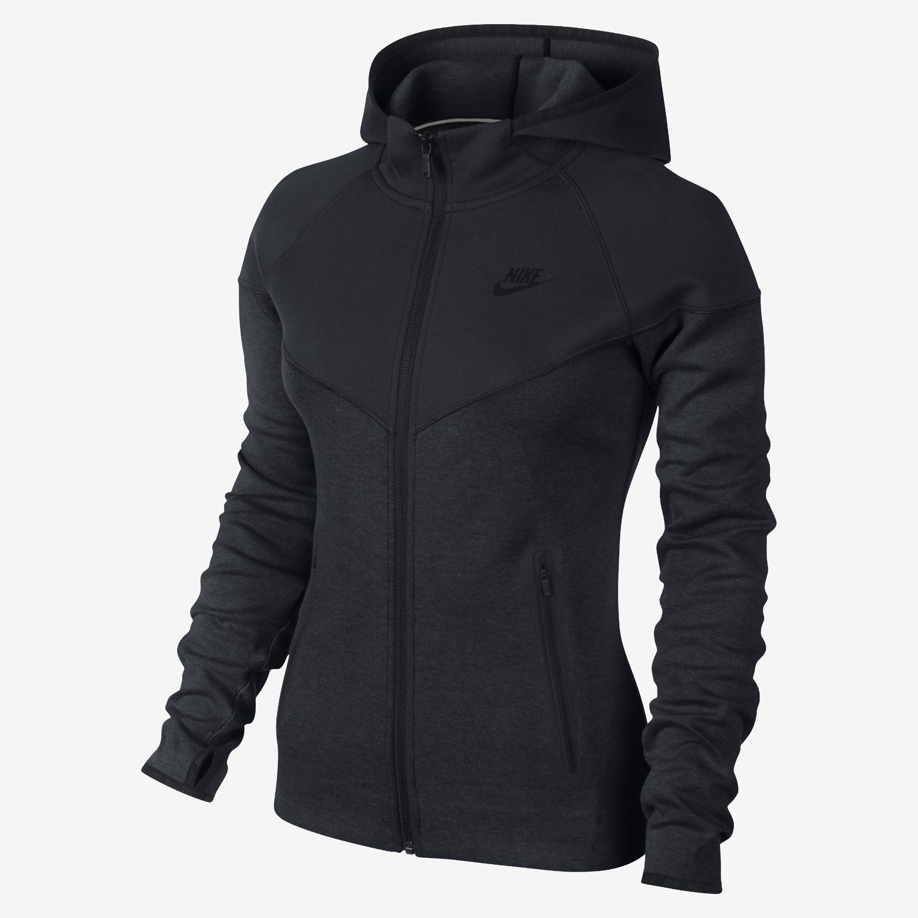 The Nike Tech Fleece Full Zip Women S Hoodie Nike Tech Fleece Frauen Hoodie Nike Tech [ 1860 x 1860 Pixel ]
