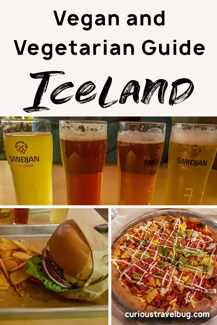 Iceland Vegetarian and Vegan Food Guide - Curious Travel Bug #travelbugs