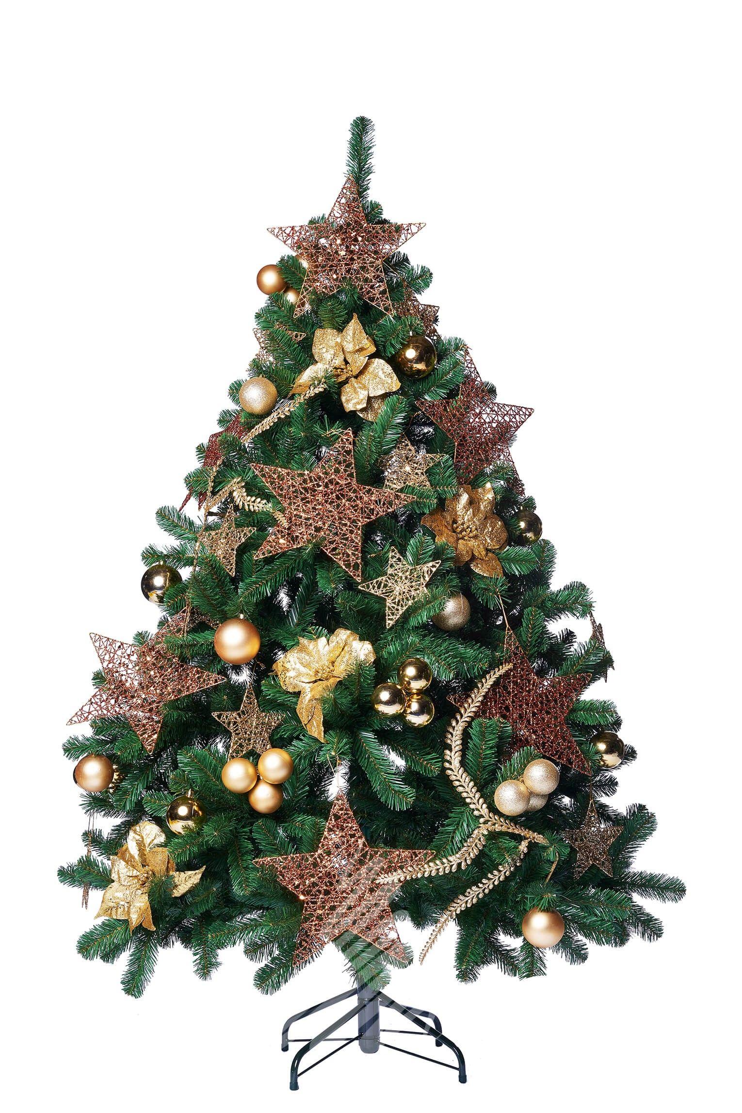 Jewel Pine 6ft Decorated Artificial Christmas Tree | Christmas Tree ...