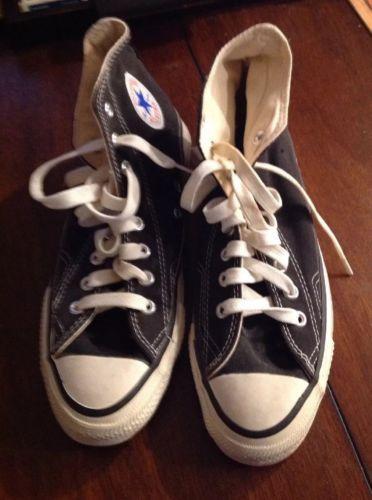 6091bedbb704 Converse Men s Shoes High Tops Chuck Taylor All Star Vintage USA 9