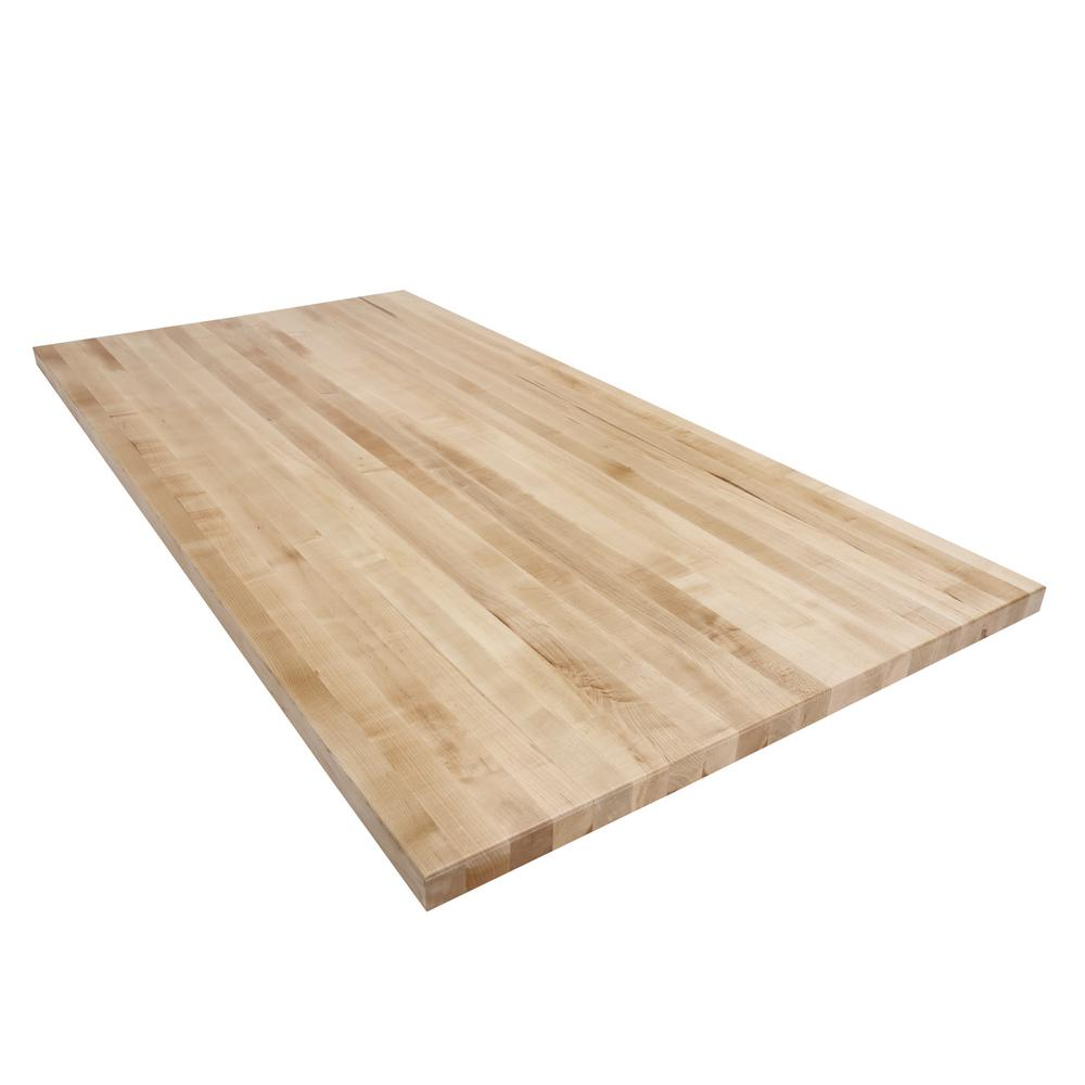 Swaner Hardwood 6 Ft L X 3 Ft D X 1 75 In T Butcher Block