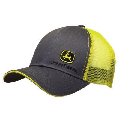 timeless design huge selection of closer at Men's Charcoal & Yellow Side Logo Cap | Hats for men, Country hats ...