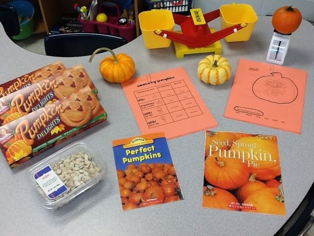First Grade Critter Cafe': Frankenstein and Pumpkins on this Five for Friday!