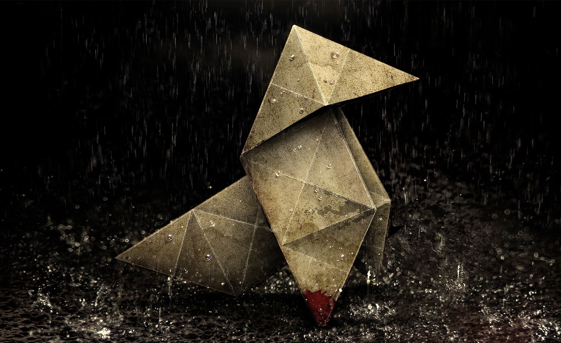 """""""Heavy rain. It's been like this for weeks..."""" wallpapers"""