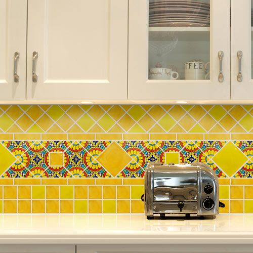 Pretty 12X12 Ceramic Tile Thick 2X4 Ceiling Tiles Home Depot Square 2X4 Drop Ceiling Tiles 3 X 6 White Subway Tile Young 3D Ceiling Tiles Soft4 X 12 Subway Tile Colorful Kitchen Style Ideas | Kitchen Styling, Kitchens And Walls
