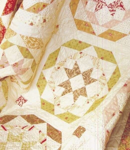 Rosettes by Fig Tree & Co. FTQ803 Quilt Pattern is Layer Cake ... : layer cake friendly quilt patterns - Adamdwight.com