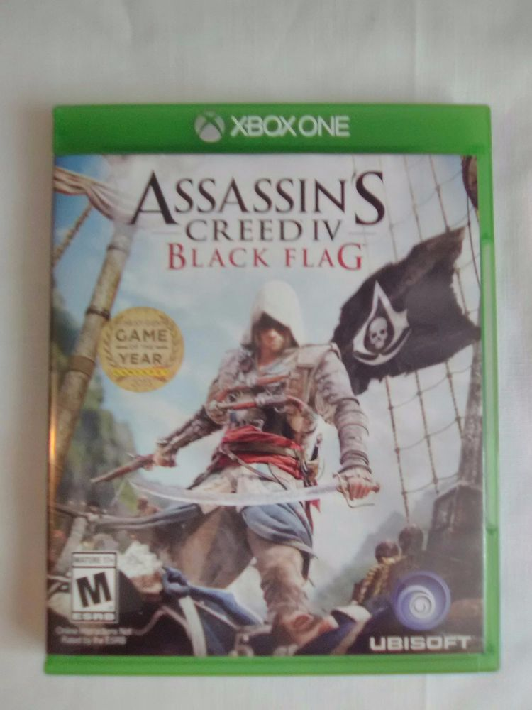 Assassin S Creed Iv Black Flag Microsoft Xbox One 2013 Great Condition Assassins Creed Black Flag Black Flag Flag Game