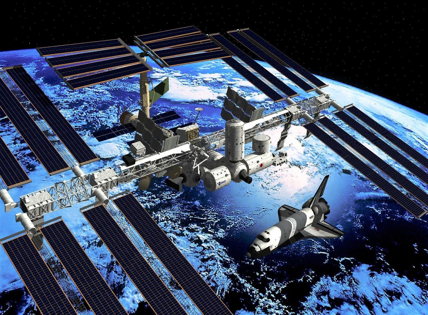 us space station - HD1425×1050