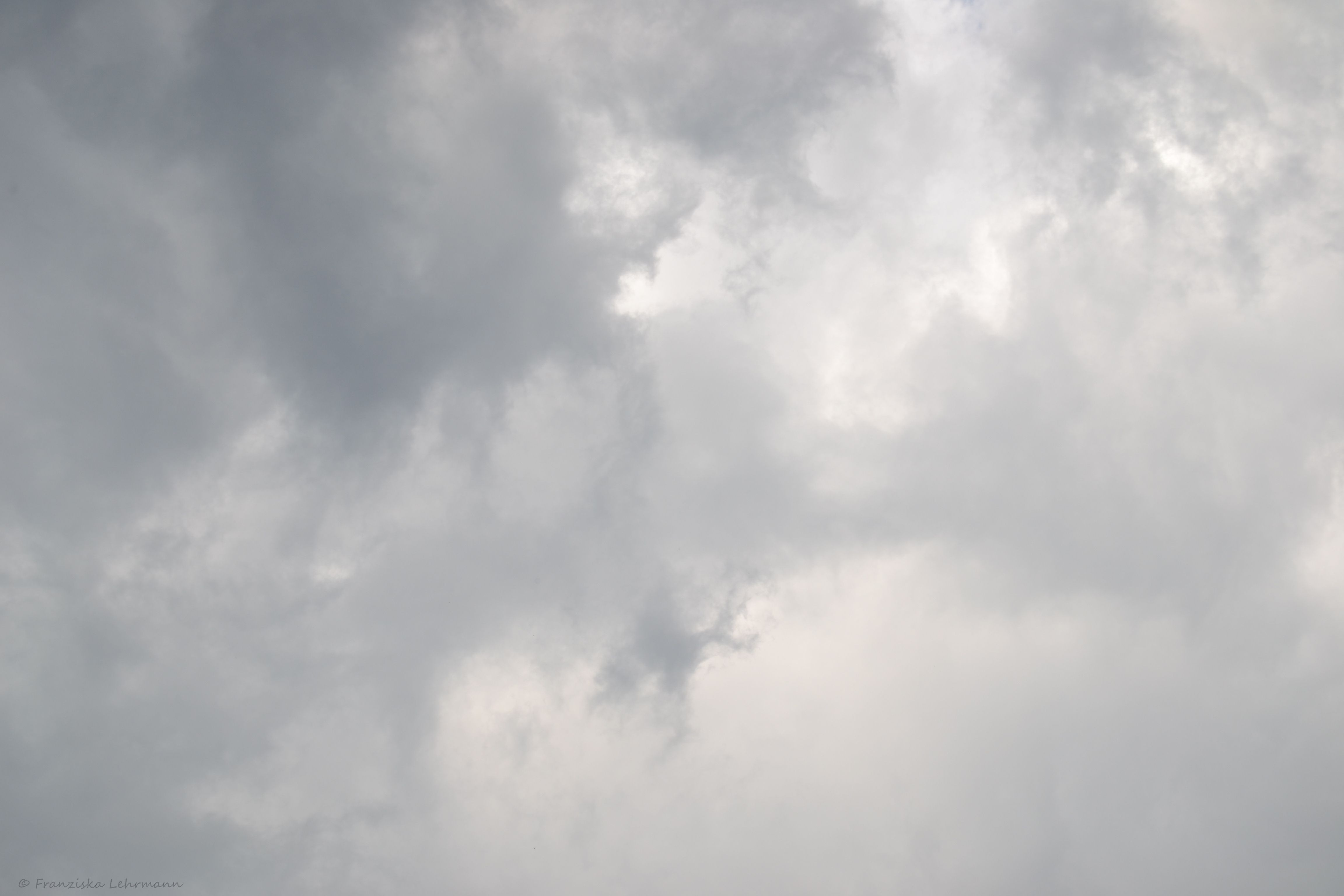 Rainy afternoon sky