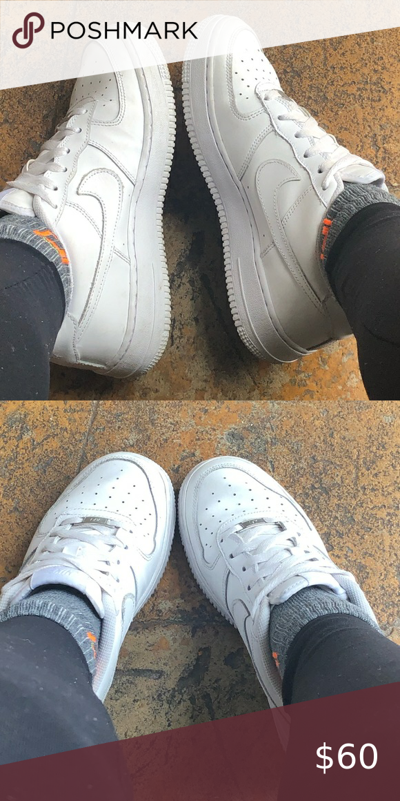 White Air Force 1s/ No box in 2020