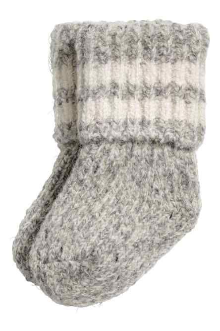 Носки из смесовой шерсти