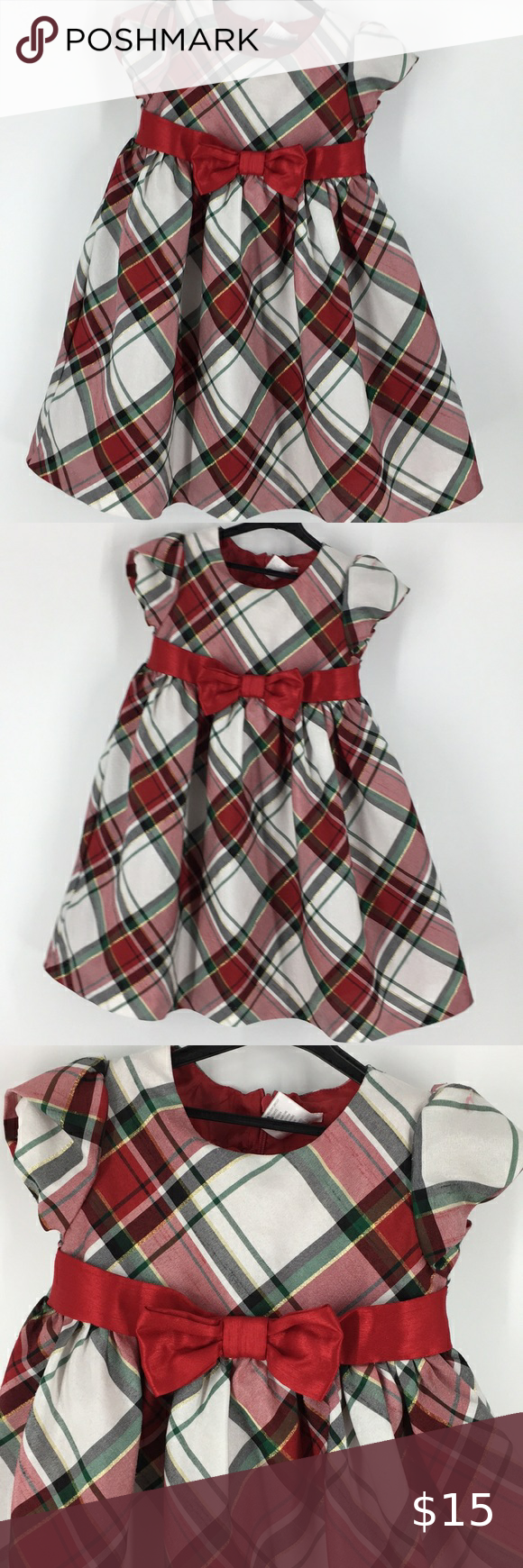 Gymboree Red Green Plaid Dress K2005 Green Plaid Dress Plaid Dress Clothes Design [ 1740 x 580 Pixel ]