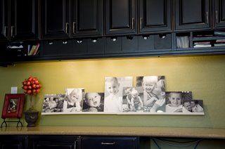Cute idea for the kitchen.