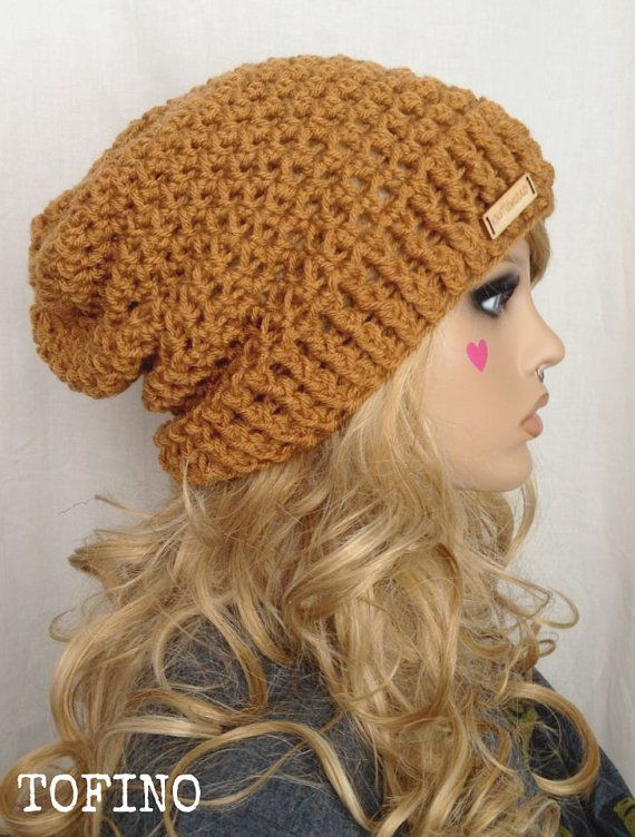8e122f86898 TOFINO Crochet Ribbed Brim Slouch Beanie by KnotSewKrazy on Etsy ...