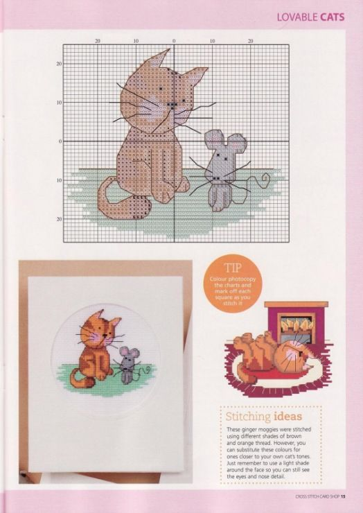 Gallery.ru / Фото #11 - Cross Stitch Card Shop 60 - WhiteAngel