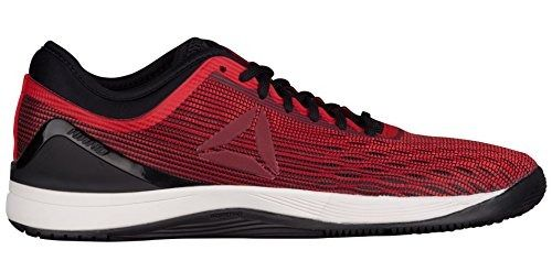 5d1316a473a5 Reebok Crossfit Nano 8 Flexweave Cross Trainer - Primal Red-Urban  Maroon-Chalk-