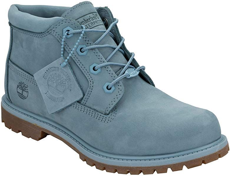 Timberland Womens Womens Nellie Chukka Boots in Blue UK 4