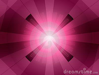 Magenta starburst background.