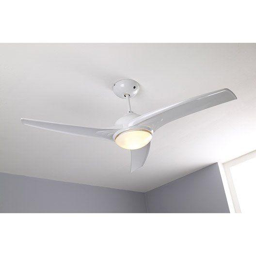 Ventilateur de plafond Tokyo INSPIRE, blanc, 2x42 watts Decoration - ventilateur de plafond pour chambre