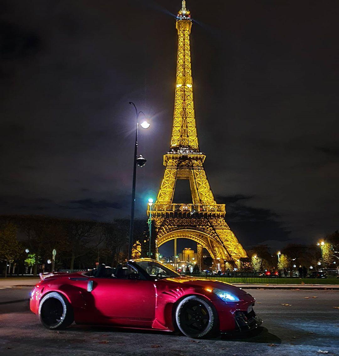 Sebaz350z On Instagram Paris Is Always A Good Idea Parisdreams Aneveninginparis Parisnights Nissan350z Fairladyz Late Paris Nissan 350z Instagram