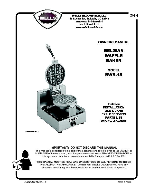 Waffle Maker Wiring Diagram - Wiring Diagram Information on