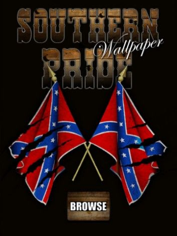 Southern Pride (Rebel Flag) Wallpaper! for iPhone
