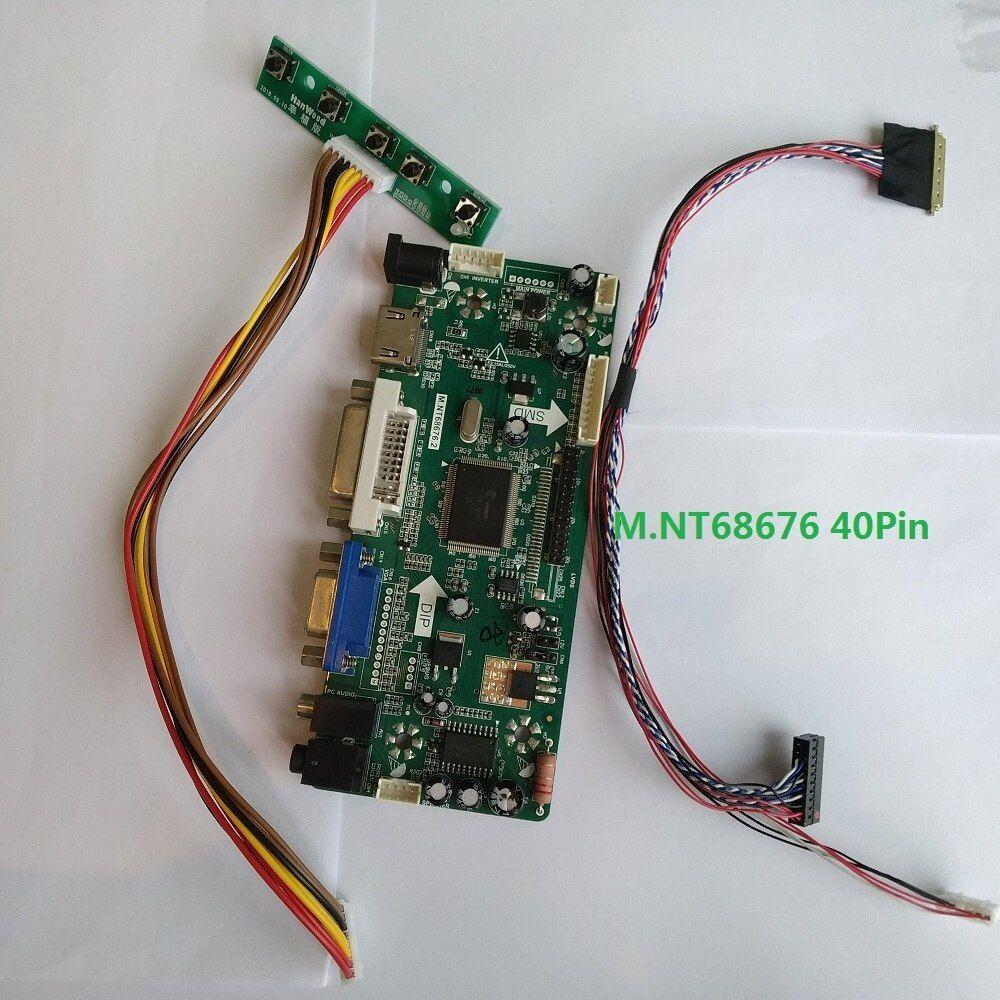 "HDMI+DVI+VGA NT68676 LCD Controller Board Kit for 17.3/"" 1920X1080 LP173WF1 Panel"