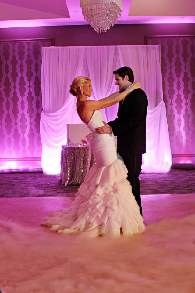 Ipw Reception Corporate Event Photographyorlando Wedding: Dancing On A Cloud With Pink Uplights By Our DJ Rocks