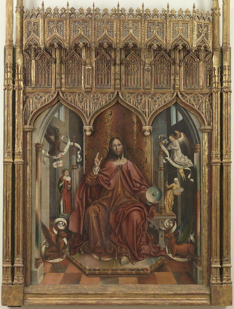 """Cristo bendiciendo"", Fernando Gallego, 1494-1496."