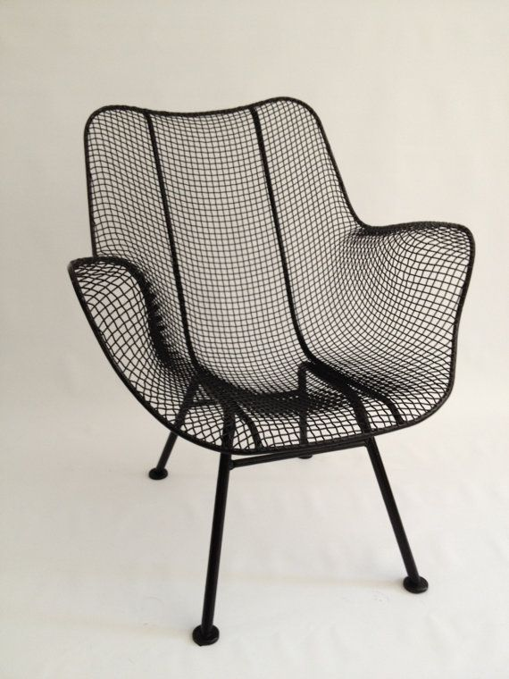 reserved for mara russell woodard sculptura wire arm chair patio