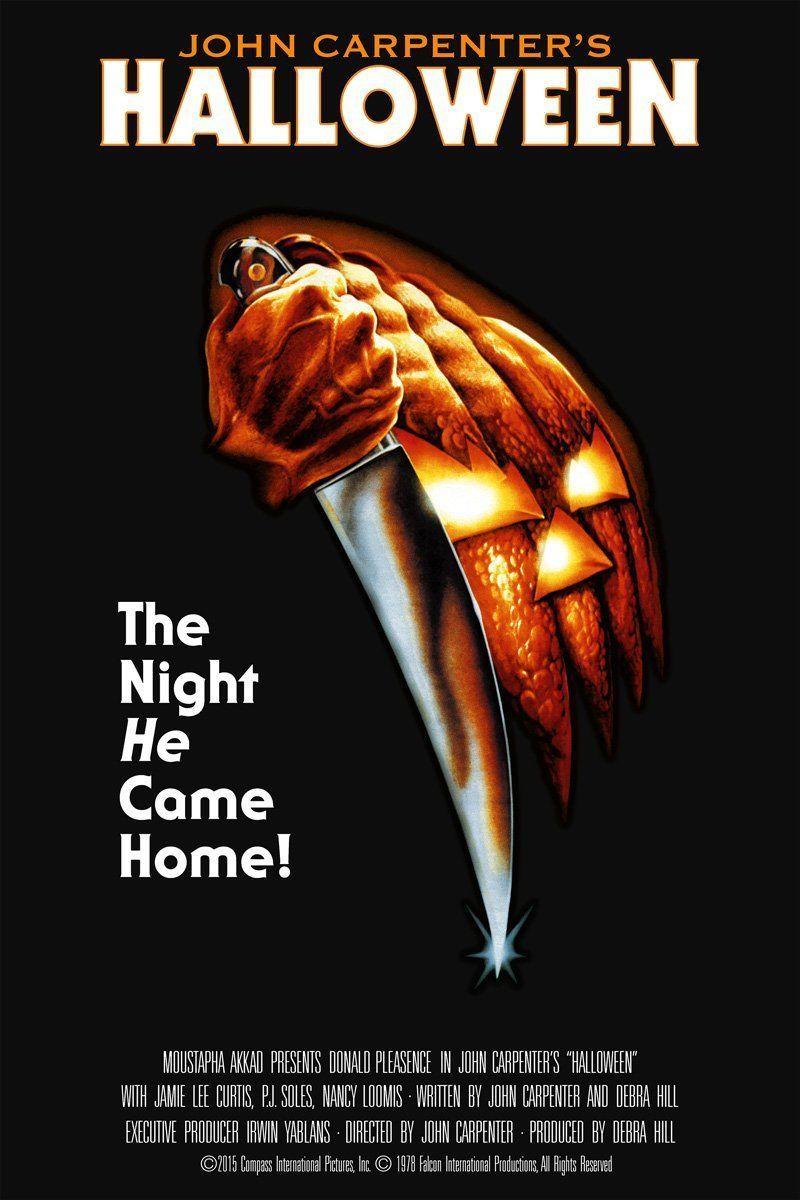 Halloween Movie Poster Screen Print Signed By Bob Gleason