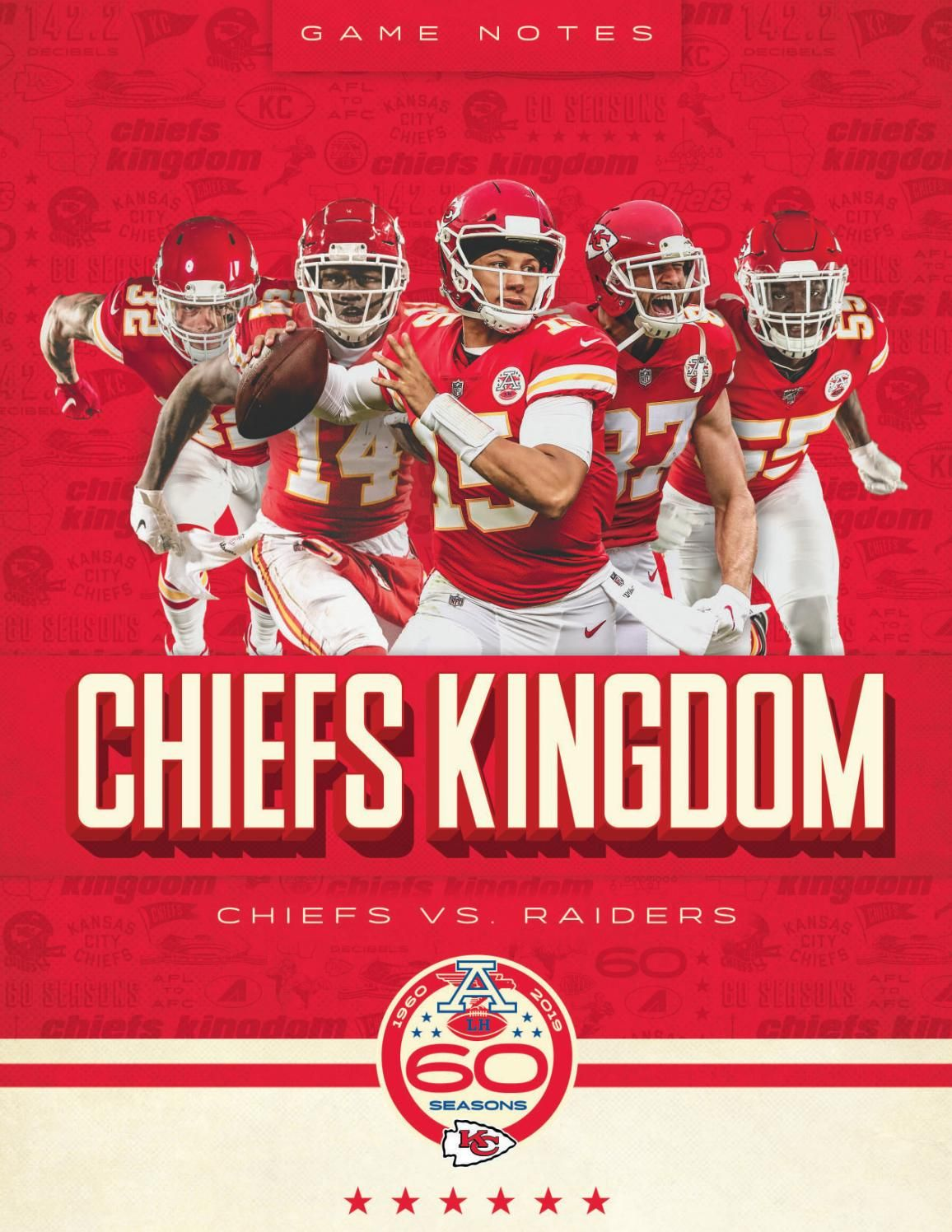 Regular Season Game 2 Chiefs At Raiders 9 15 19 By In 2020 Chiefs Wallpaper Chief Kc Chiefs