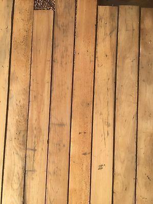 Reclaimed Canadian Maple Strip Flooring Antique Hardwood Uk Delivery