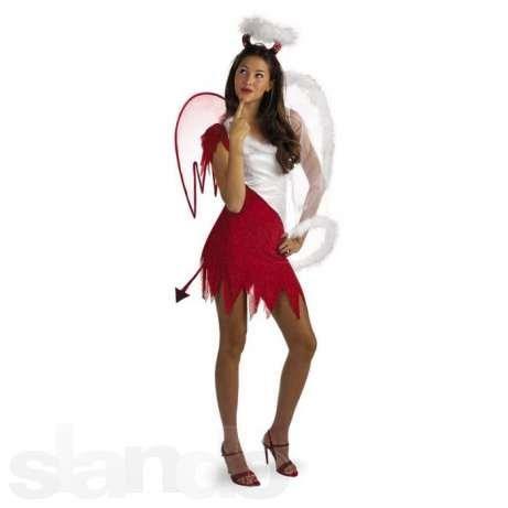 5a9babd78b6aea8 Карнавальный костюм ангел демон Костюмы Для Взрослых, Костюмы Для Девочек  Подростков, Костюмы На Хэллоуин