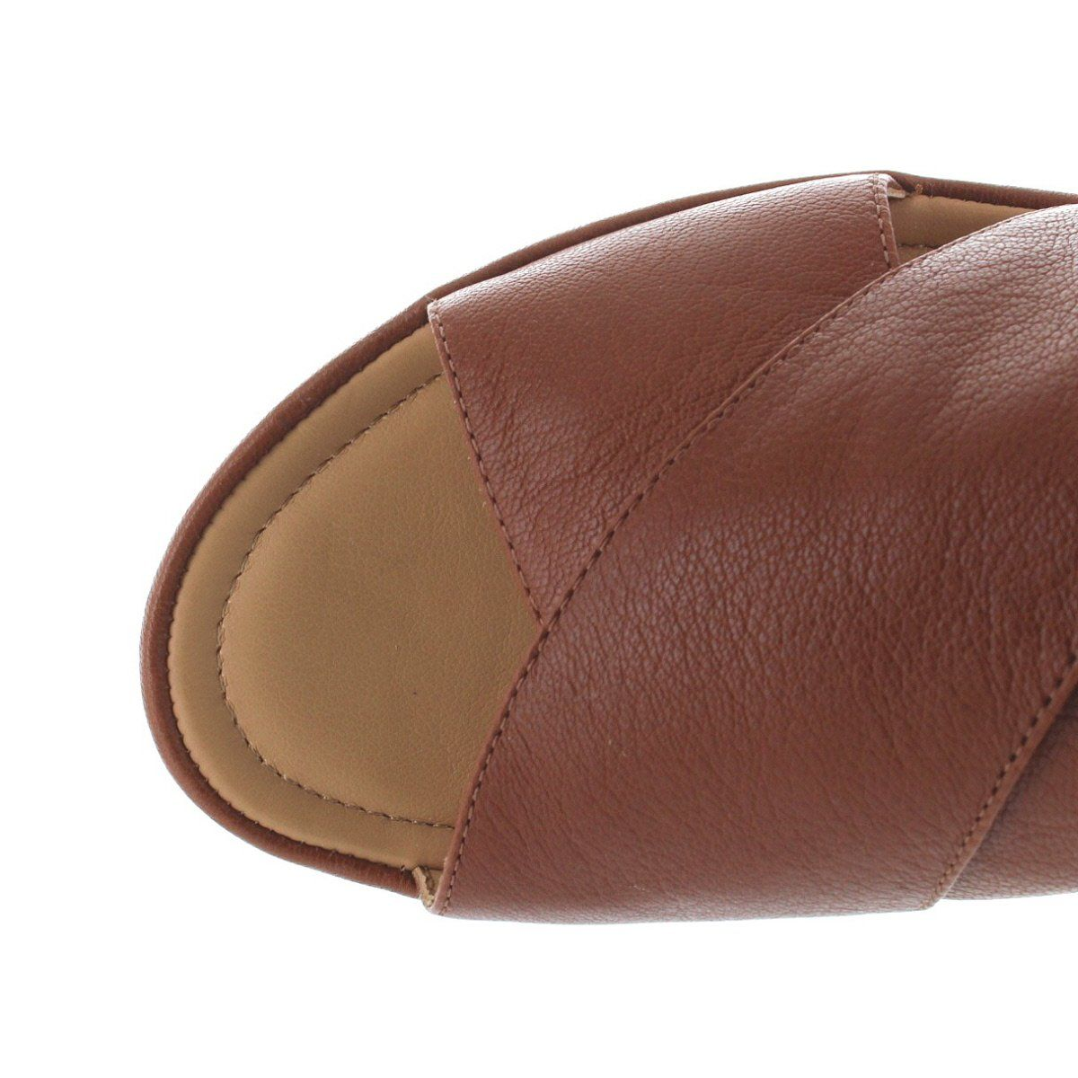 04942e82bd Schedule an all-day event wearing versatile Arena by Me Too! It's an  easy-to-wear platform/wedge sandal featuring a wide crisscross band leather  upper with ...