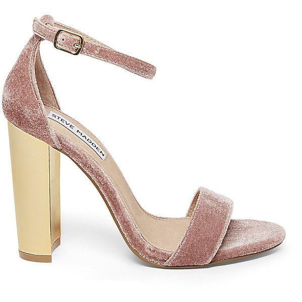 e5b016e2882 Steve Madden Women's Carrsonv Sandals ($90) ❤ liked on Polyvore ...
