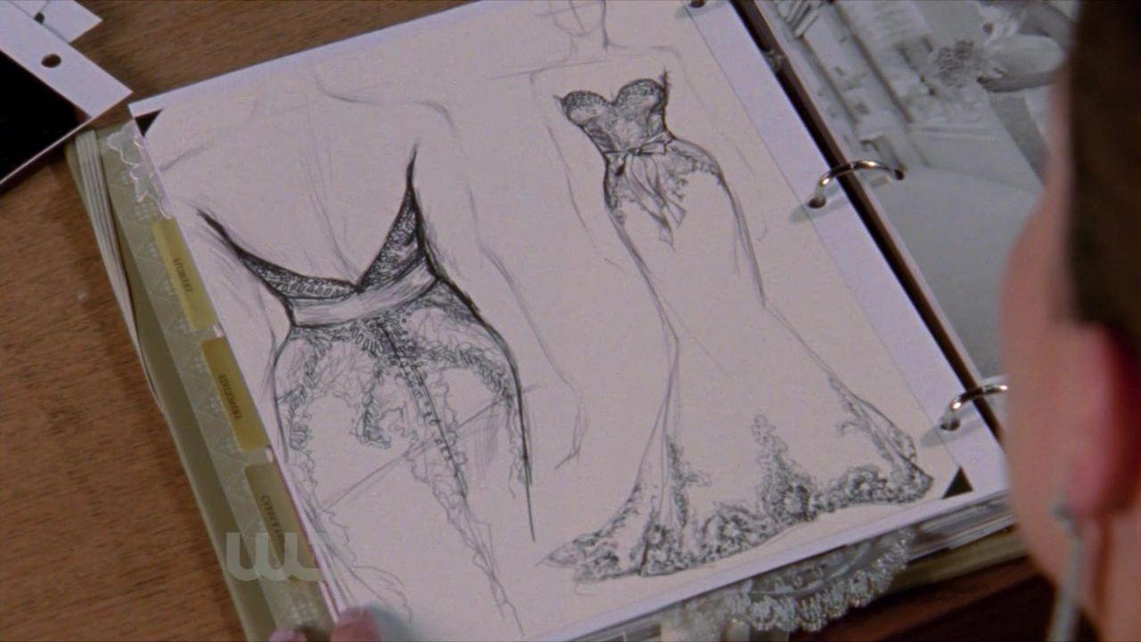 Brooke Davis Wedding Dress Design | Wedding Dress | Pinterest ...