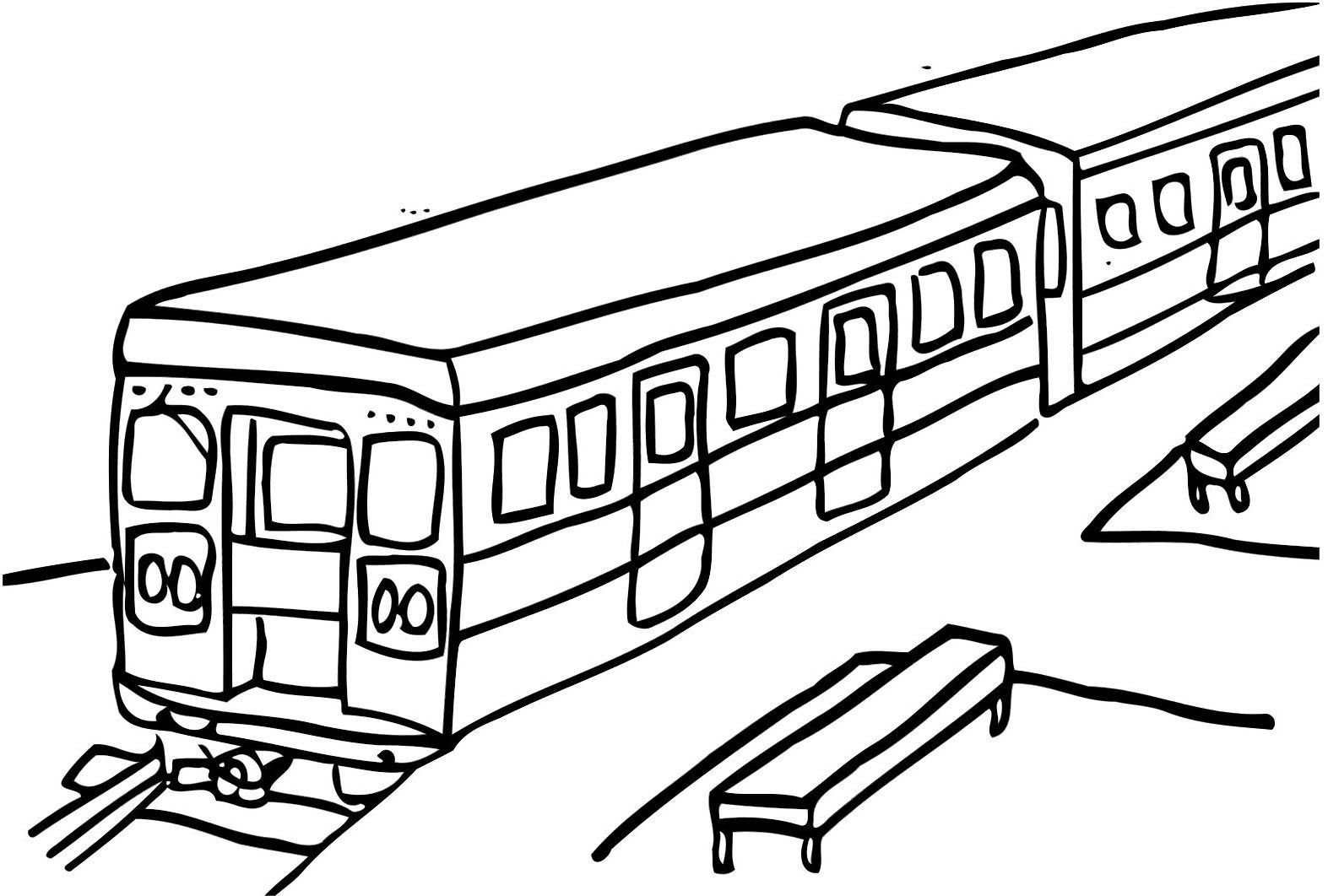 Subway Train Coloring Pages Train Coloring Pages Cars Coloring Pages Coloring Pages