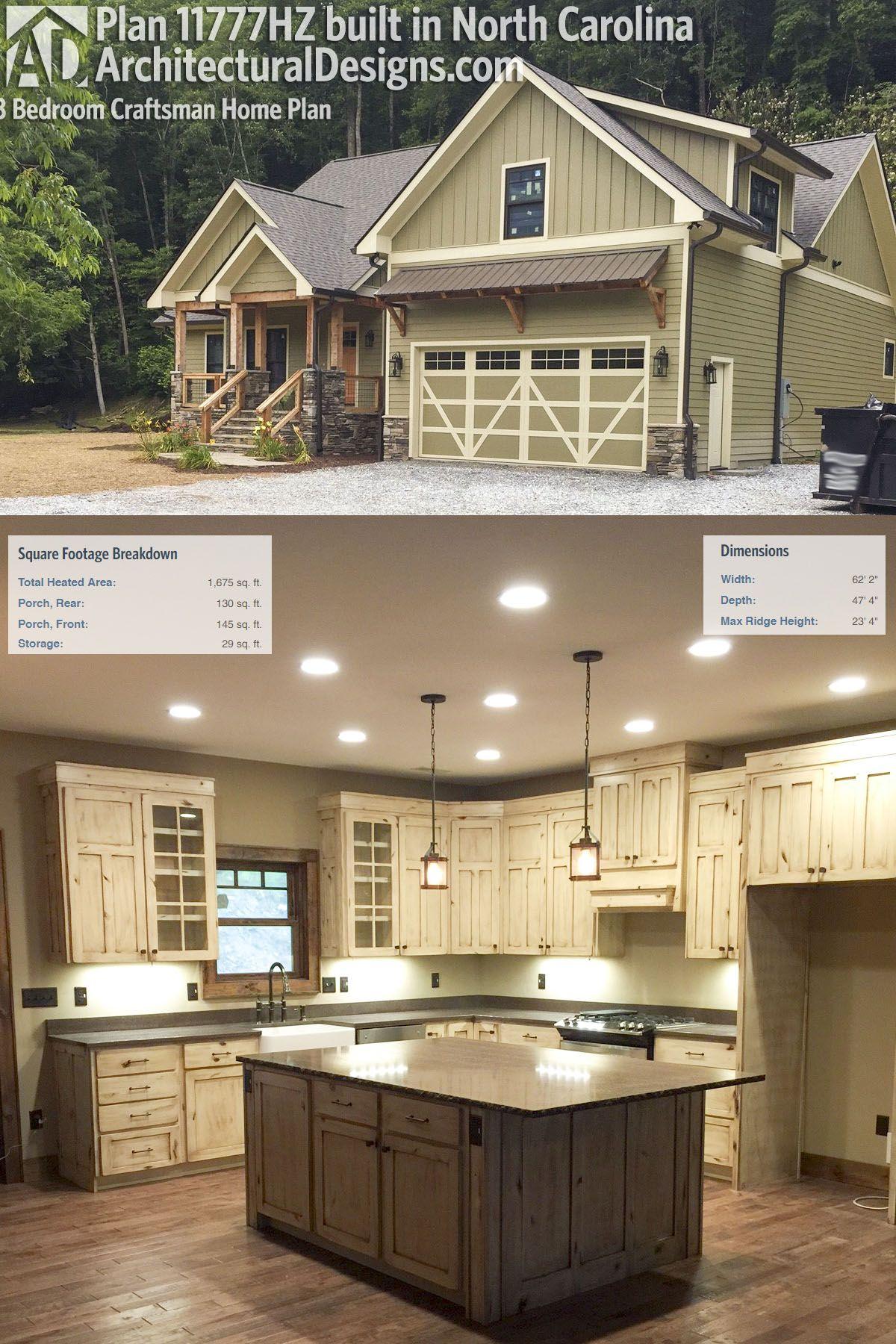 plan 11777hz 3 bedroom craftsman home plan craftsman house
