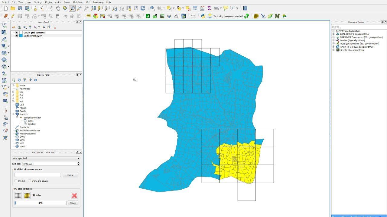 Qgis create polygon grid create fishnet geospatial gis pinterest qgis create polygon grid create fishnet ccuart Images