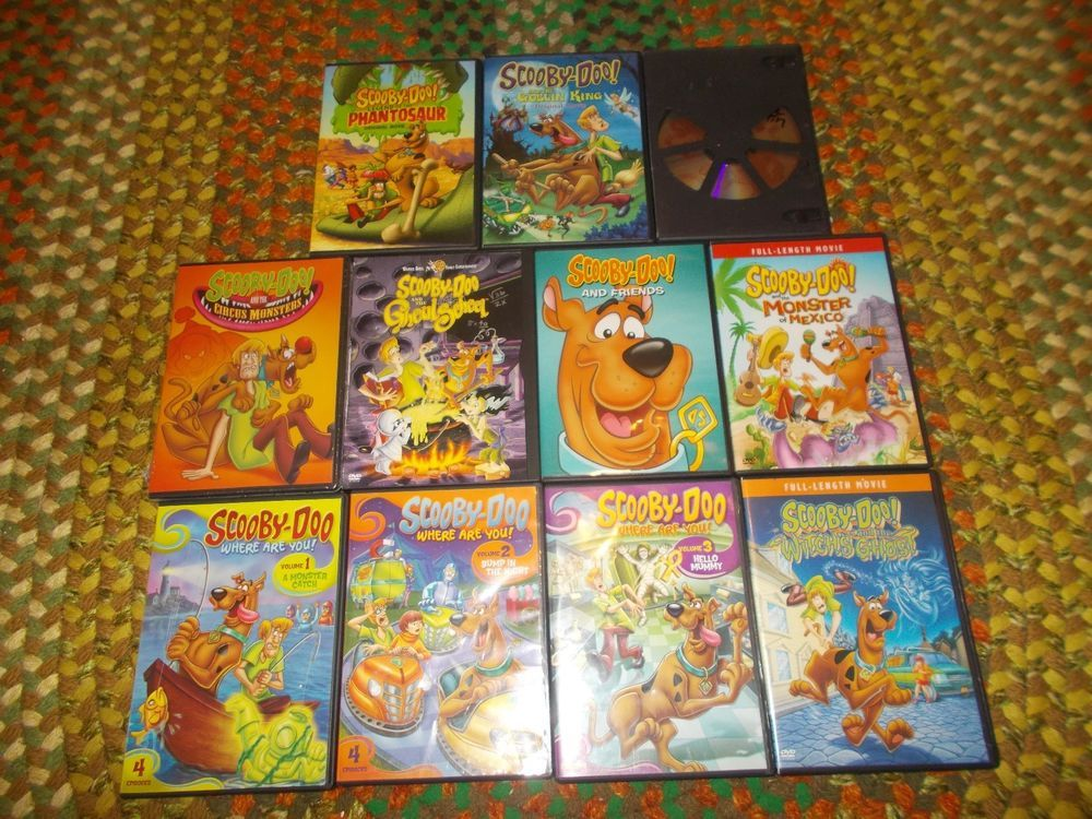Where Are You Scooby Doo Witch Ghost Pirates 11 Dvd Lot Scooby Scooby Doo Ghost