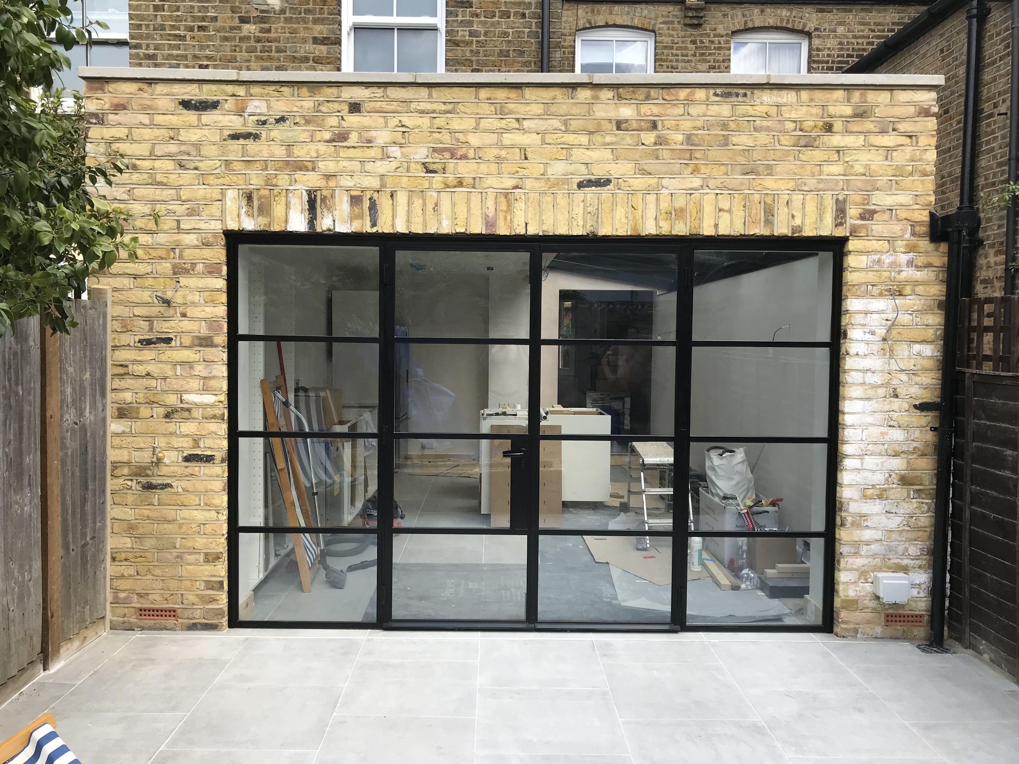 Black Steel External Doors Crittall Style Steel Doors And Windows Steel Windows Steel Doors Exterior
