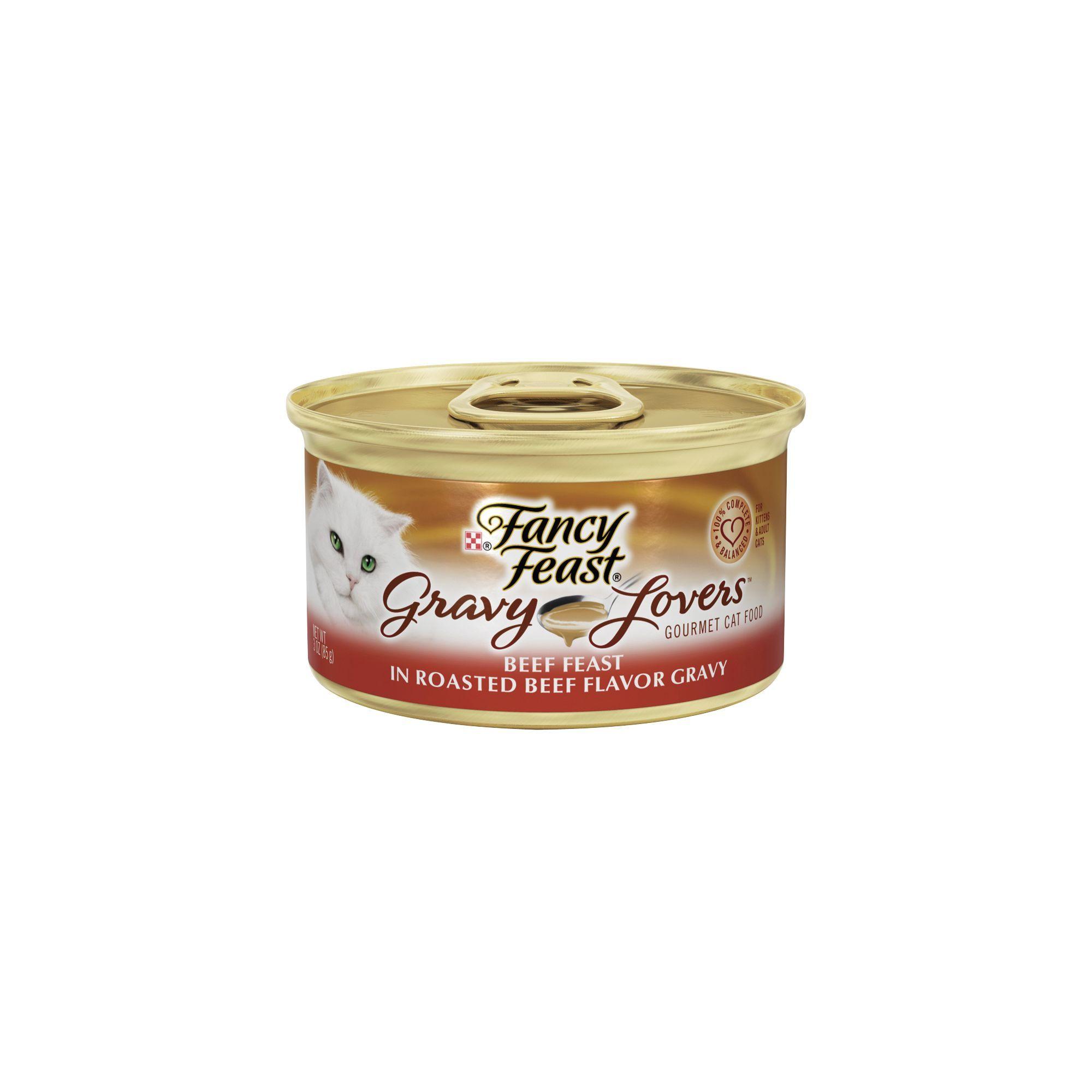Fancy Feast Gravy Lovers Cat Food 3oz size: 3 Oz, ash ...