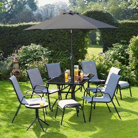 wwwwyevalegardencentrescouk shop brooks 6 seater garden - Garden Furniture 6 Seats