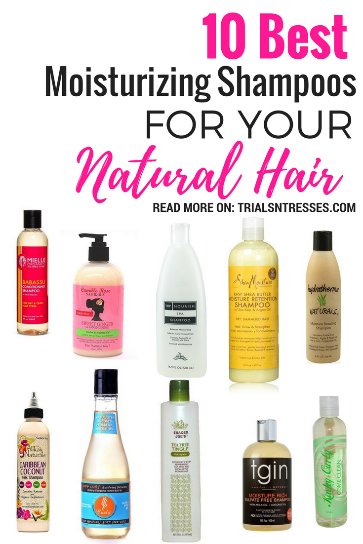 10 Best Moisturizing Shampoos For Your Natural Hair Shampoo Curly