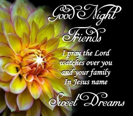 Good Night May God Bless All Of My Dear Friends With A Peaceful And