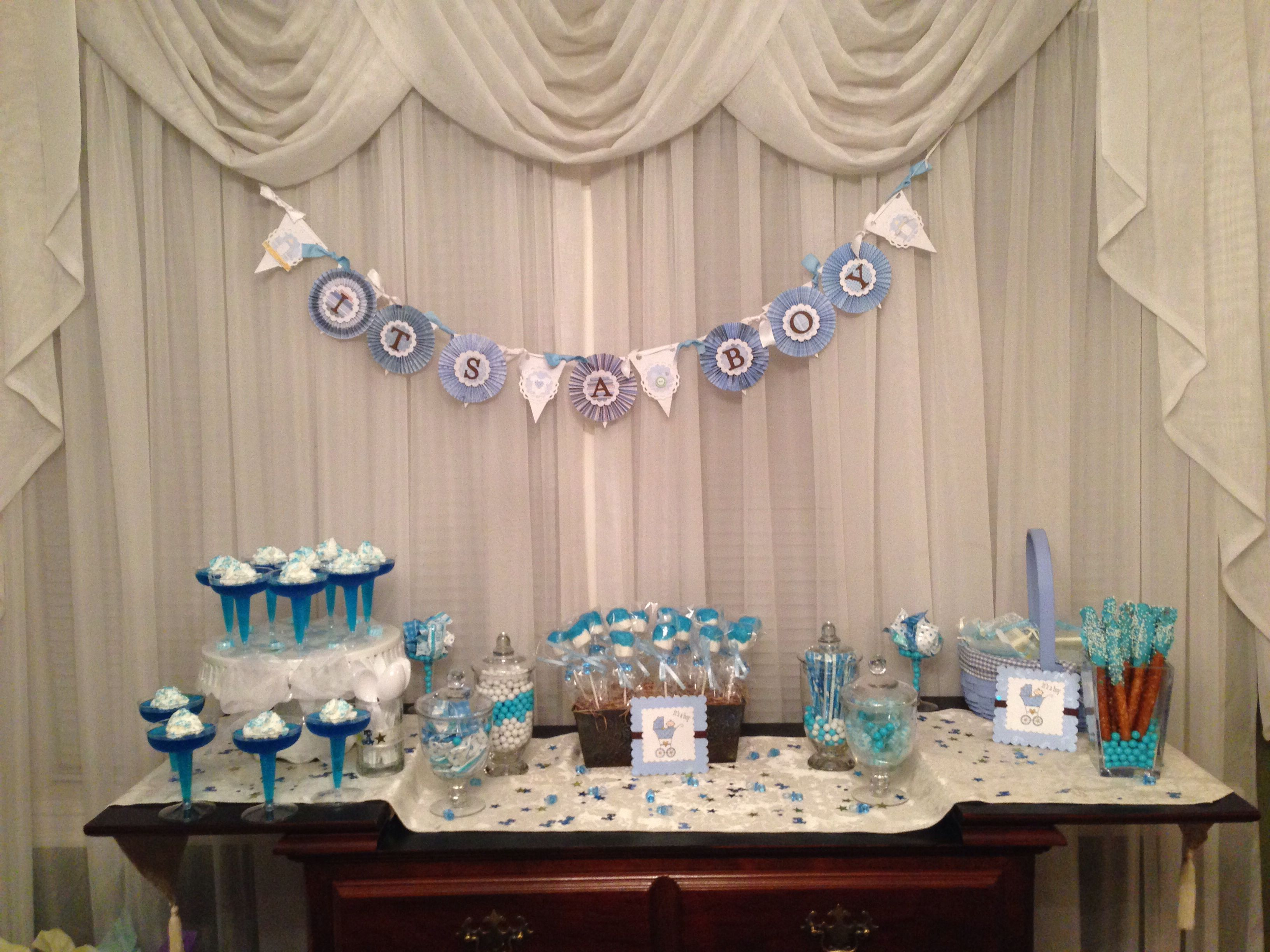 Sweet table it's a boy