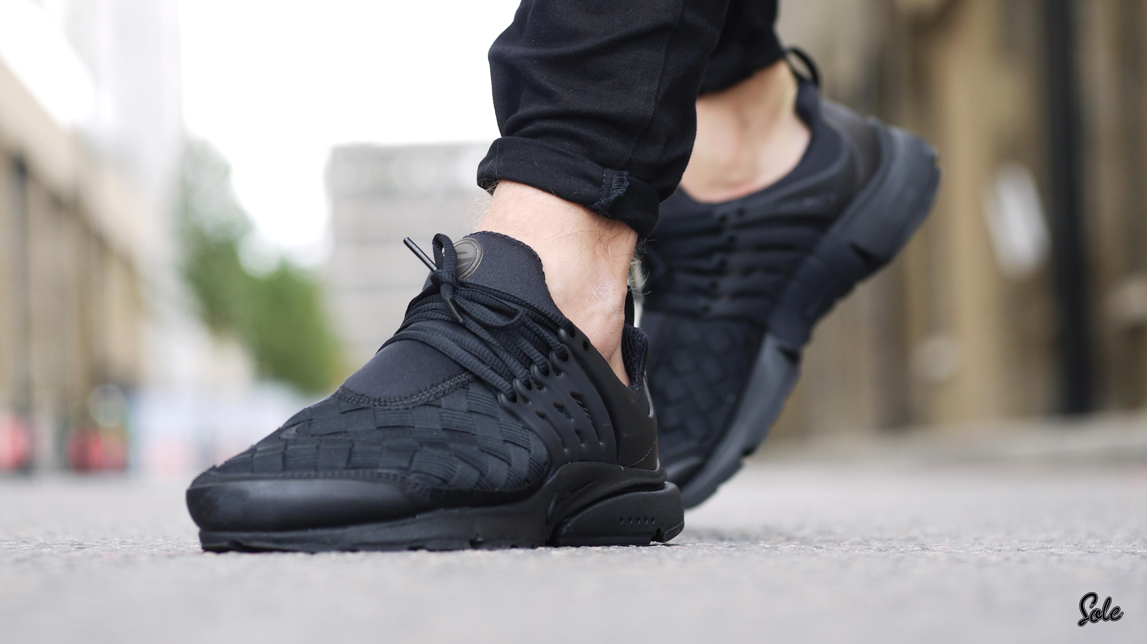quality design c0bfc eb671 Is The Nike Air Presto Woven Black The Most Stylish Design Yet    Closer  Look   The Sole Supplier