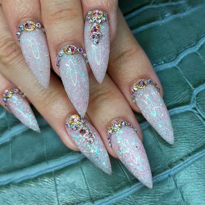 Fantabulous Pointy Nails Designs You Would Love To Have Nail