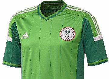 Nigeria 2014 World Cup Adidas Home Jersey